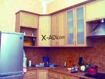 Кухня с рамочными фасадами. Рамка Стандарт, цвет дуб.
